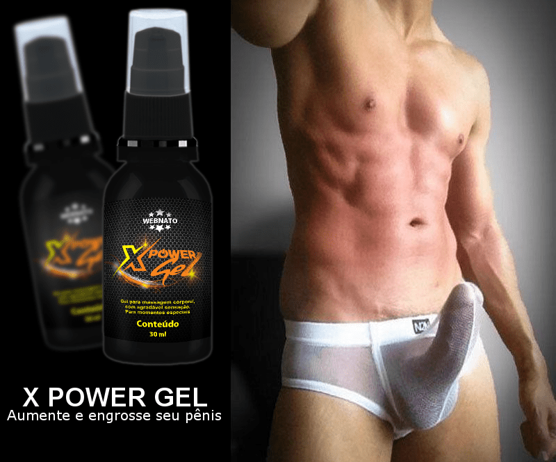 X Power Gel Amostra Gratis